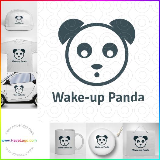 熊貓logo設計 - ID:35164