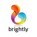 明亮的Logo