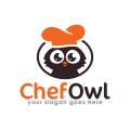 廚師的貓頭鷹Logo