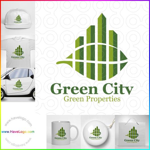 綠色城市logo - ID:60006
