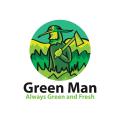 Green Man  logo