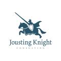Jousting Knight  logo
