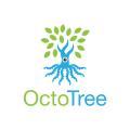 Octo Tree  logo