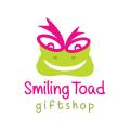 微笑的蟾蜍Logo