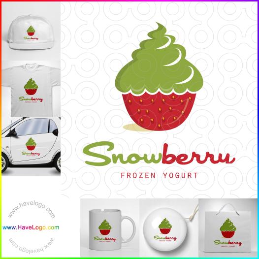strawberry logo - ID:44667