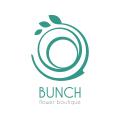 Bunch flower boutique  logo