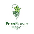 Fern Flower magic  logo