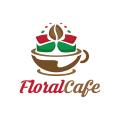 Floral Cafe  logo