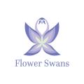 Flower Swans  logo