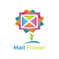 郵件花Logo