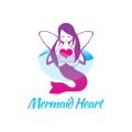 Mermaid Heart  logo