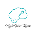 Night Time Music  logo