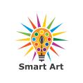 聰明的藝術Logo