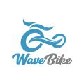 波的自行車Logo