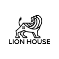 lion house  logo