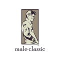 male models agency logo
