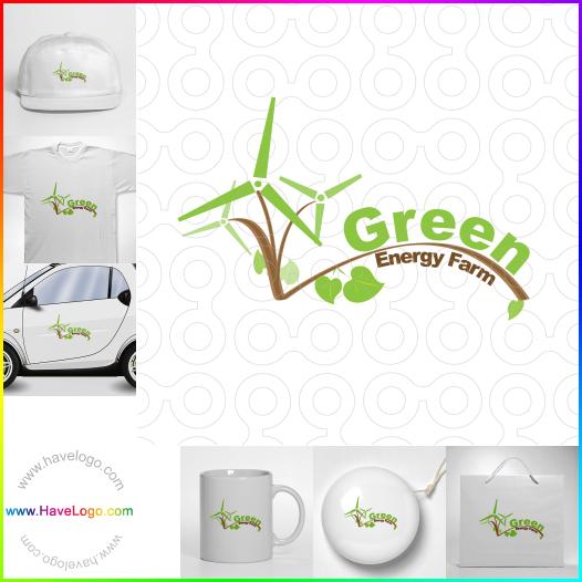 wind power logo - ID:35433