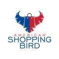 美國購物鳥Logo