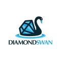 鑽石天鵝Logo
