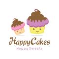 幸福的蛋糕Logo