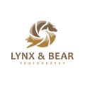 猞猁和熊Logo