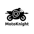 摩托騎士Logo