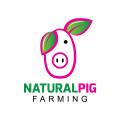 Natural Pig  logo