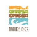 自然照片Logo