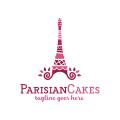 巴黎蛋糕Logo