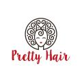 漂亮的頭髮Logo