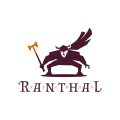 Ranthal Axeman  logo