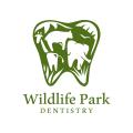 野生動物公園的牙科Logo