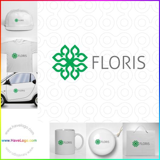 flower logo - ID:52807