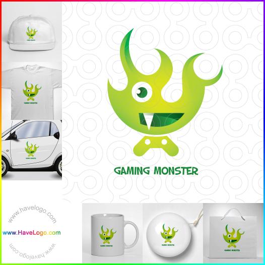 怪物logo - ID:55717
