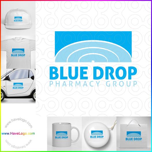 藍色logo設計 - ID:17557