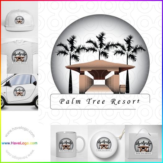 棕櫚logo設計 - ID:17723