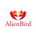Alien Bird  logo