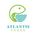 亞特蘭蒂斯的食物Logo