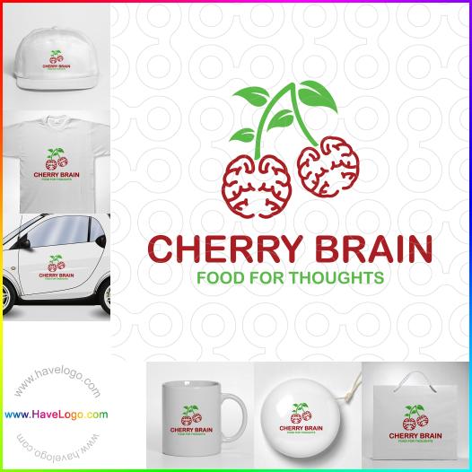 櫻桃的大腦思考logo