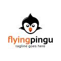 Flying Pingu  logo
