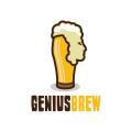 天才釀酒Logo