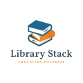 Library Stack  logo