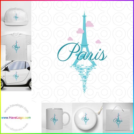 巴黎埃菲爾鐵塔logo