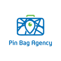 Pin bag agency  logo