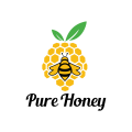 純蜂蜜Logo
