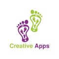 creative apps  logo