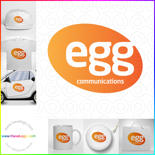 egg logo - ID:17737