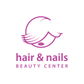 hair & nails  logo