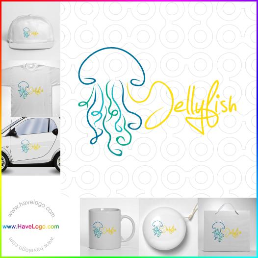 海蜇logo設計 - ID:52925