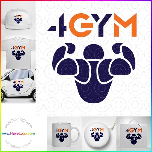 muscle logo - ID:56